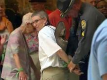 'Moral Monday' protest arrest