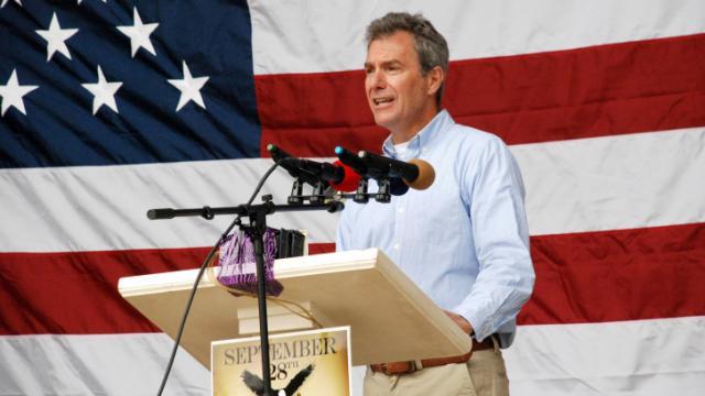 U.S. Senate candidate (2014) Dr. Greg Brannon, a Cary Republican