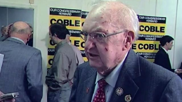 Howard Coble of Greensboro