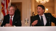 John Skvarla, Secretary of Environmental and Natural Resources, and Gov. Pat McCrory