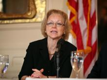 Aldona Wos, Secretary of Health and Human Services