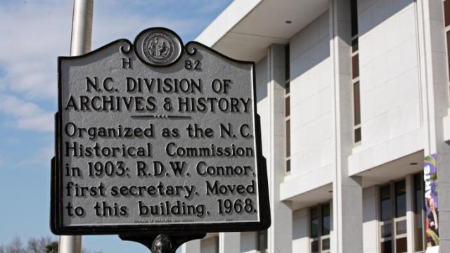N.C. Division of Archives and History