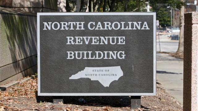 N.C. Revenue Building