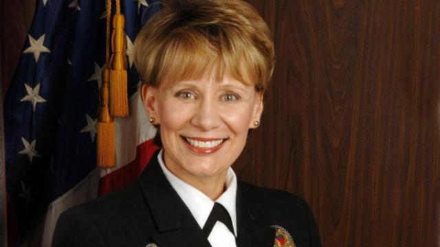 Rear Adm. Penny Slade-Sawyer, North Carolina's new Director of Public Health.