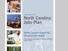 North Carolina Jobs Plan Cover