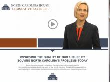 The front web page for N.C. House LEgislative Partners, accessed 030514.