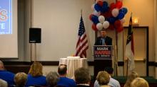 IMAGES: Republican rivals target Tillis as primary intensifies