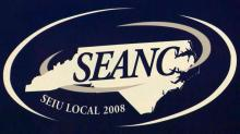 SEANC sign, State Employees Association of North Carolina