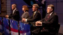 IMAGES: GOP Senate primary debate