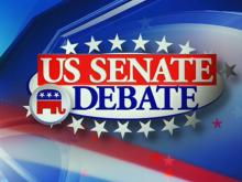 Senate debate graphic