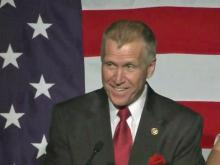 Tillis, backers celebrate primary win