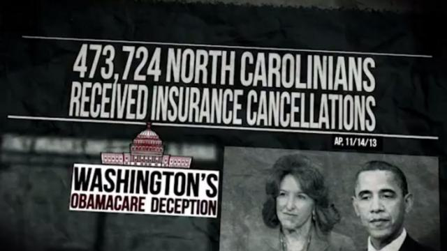 "This is a still image from Crossroads GPS's ""Deceiving"" ad aired in North Carolina."