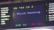 Senate holds midnight budget vote