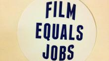Film Tax sticker