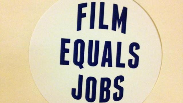 Film Tax sticker