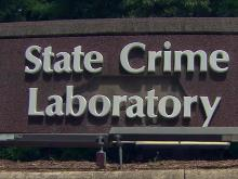State Crime Lab sign