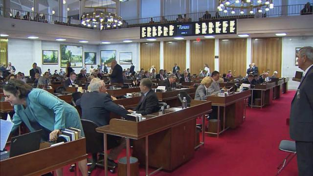 The state House gave final legislative approval to the $21.1 billion state budget on Aug. 2, 2014, but instead of formally closing the session, lawmakers have left it in limbo.