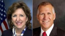 Kay Hagan and Thom Tillis, 2014 U.S. Senate race