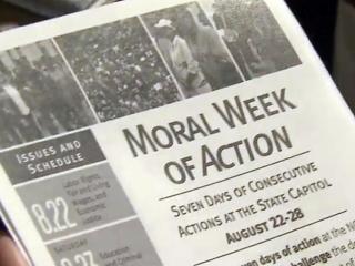 'Moral Week of Action' flier