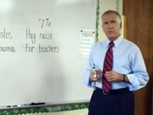Tillis 7 percent at the whiteboard