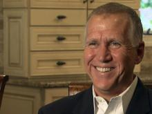 Web only: Tillis discusses issues in US Senate campaign