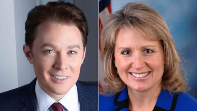 Democratic challenger Clay Aiken and Republican 2nd District Congresswoman Renee Ellmers