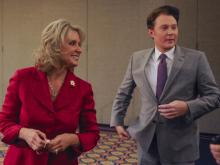 Republican 2nd District Congresswoman Renee Ellmers and her Democratic challenger, singer Clay Aiken, clashed Monday during an hour-long debate in Pinehurst.
