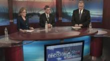 Three Senate candidates debate issues