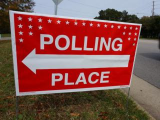 Election Day, polling places