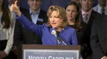 Kay Hagan election speech