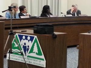 A state panel convened Friday, Nov. 14, 2014, to outline plans to get rid of coal ash waste.