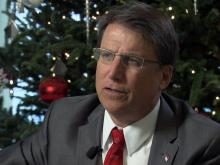 McCrory reflects on 2014, eyes 2015