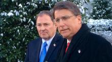 McCrory at White House