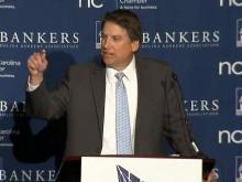 Gov. McCrory talks about unemployment insurance reform