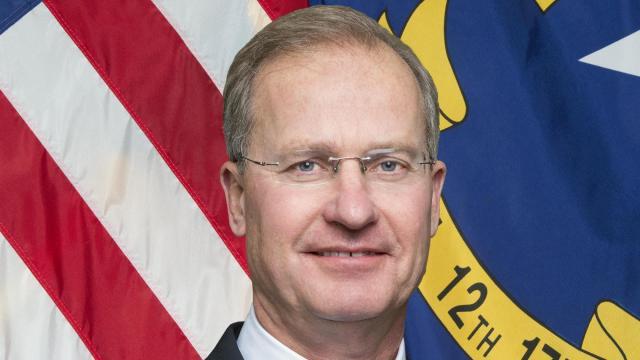 N.C. Department of Environmental Quality Secretary Donald van der Vaart
