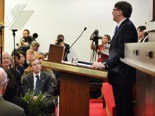 North Carolina's top judge addressed a joint session of the General Assembly in a State of the Judiciary Wednesday.