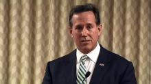 Rick Santorum at NC legislature