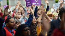 IMAGES: Protests, arrests resume at legislature