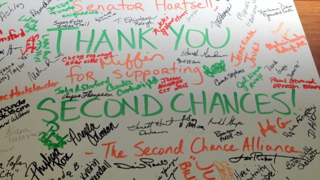 'Second Chance' lobby day poster