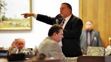 Paul Stam debates budget