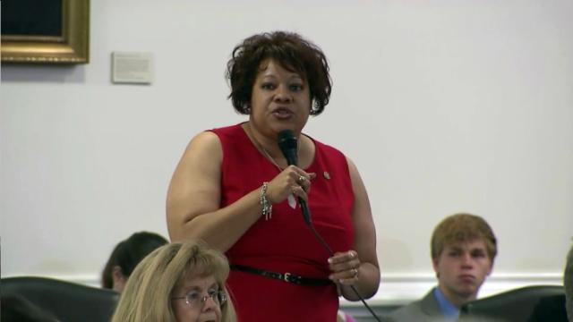 Sen. Erica Smith-Ingram, D-Northampton