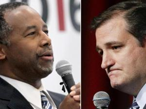Presidential candidates Ben Carson and Ted Cruz are in Raleigh for the North Carolina Republican Convention.