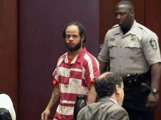 Nathan Holden walks into a Wake County courtroom on June 2, 2015, for a bond hearing in his murder case.