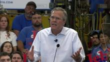 Jeb Bush in Garner