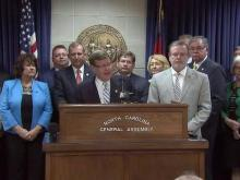 Legislative leaders discuss state budget deal