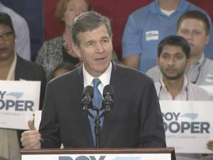 Attorney General Roy Cooper announces that he will run for governor on Oct. 12, 2015.