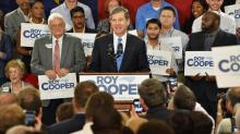 IMAGES: Cooper presses for 'new priorities' in gubernatorial bid