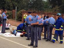 Protesters block traffic over new NC immigration law