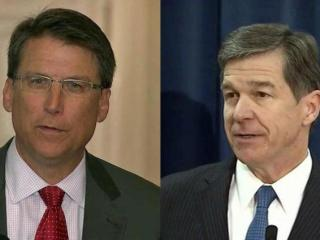 Republican Gov. Pat McCrory and Democratic Attorney General Roy Cooper are running for governor in 2016.