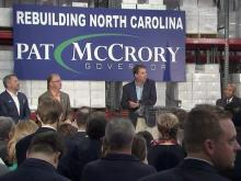McCrory kicks off re-election campaign